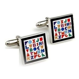 Stainless Steel High Quality Square Cufflinks
